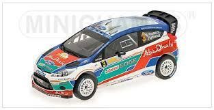 Ford Fiesta RS WRC-Hirvonen-Australia 2011- Winner- in 1/18 Scale- by Minichamps