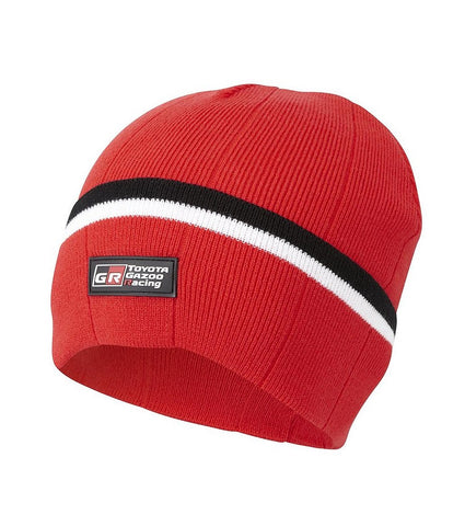 Toyota Gazoo Winter Hat- Red Beanie Style