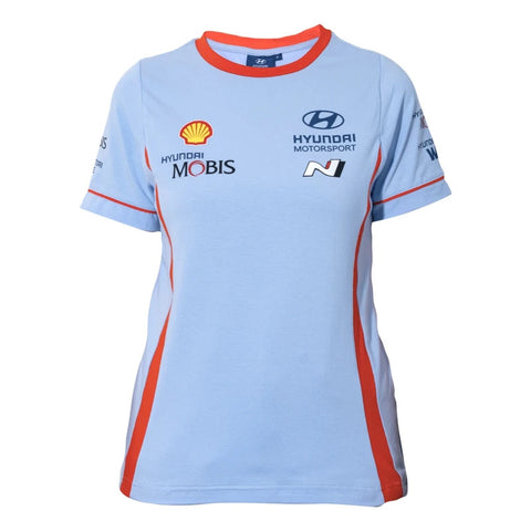 2021 Hyundai Motorsport Team Ladies T Shirt