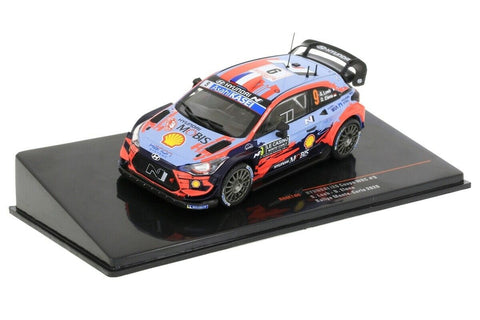 Hyundai- Loeb- Monte Carlo 2020- 6th- in 1/43 Scale- by IXO- RAM744 (LAUNCH OFFER!)