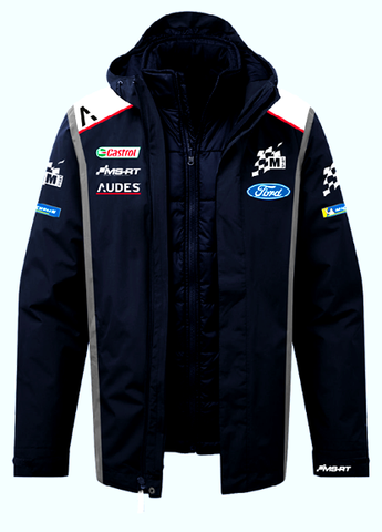 M Sport/ Ford WRC 2020/21 Team 3 in 1 Jacket