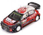 Citroën C3- Mikkelsen- Rally Sardinia 2017- in 1/43 Scale- by IXO- RAM640