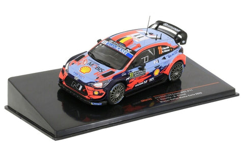 Hyundai- Neuville- Monte Carlo 2020- Winner- in 1/43 Scale- by IXO- RAM743 (LAUNCH OFFER!)