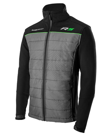 Škoda R5 Softshell Jacket Black/Grey