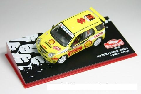 Suzuki-Wilks- Monte Carlo 2005-19th-1/43 Scale- by IXO