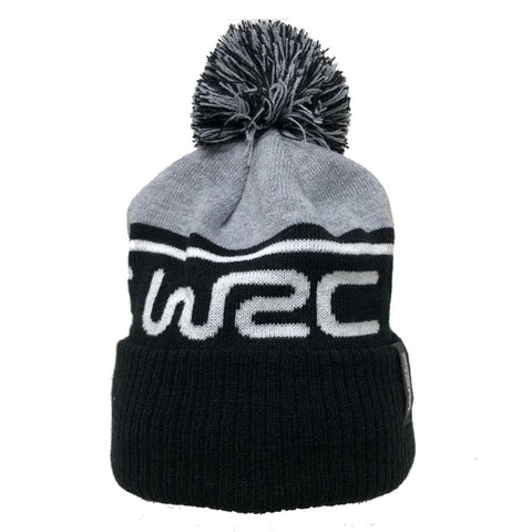 WRC Grey/Black Bobble Hat