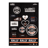WRC Sticker Set