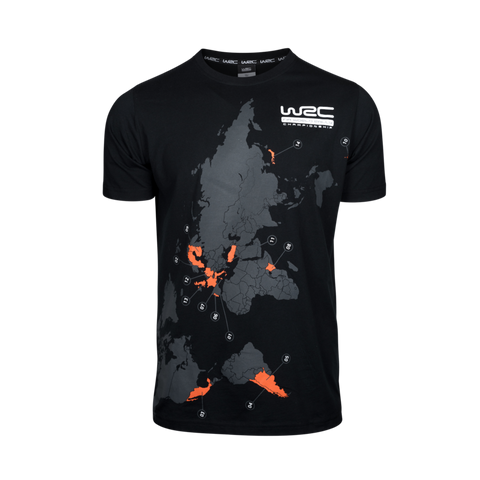 WRC 2020 Map/Dates T-Shirt