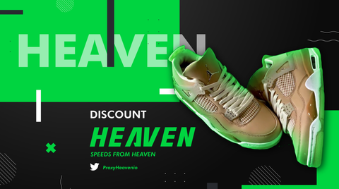Air Jordan 4 'Shimmer' ProxyHeaven Datacenter Residential Proxies ISP Residential Proxy Setup Guide