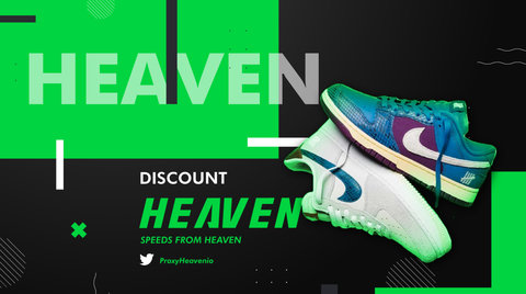 """Nike Dunk Low UNDEFEATED Dunk vs. AF1 """"5 on It"""" ProxyHeaven Proxies Datacenter Residential ISP IP"""