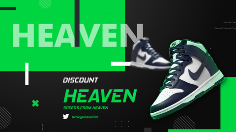 Nike Dunk High Navy ProxyHeaven Datacenter Residential Proxies ISP
