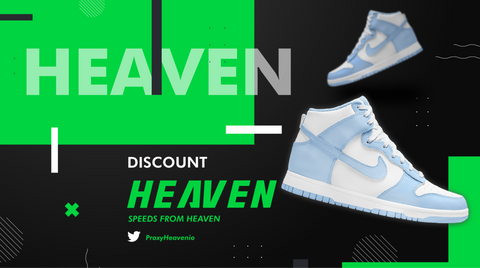 """Nike Dunk High """"Aluminum"""" ProxyHeaven Proxies Datacenter Residential ISP IP"""