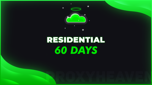 RESIDENTIAL PROXY PLAN | 60 DAYS
