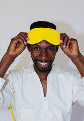 Ace Sleep Mask Yellow