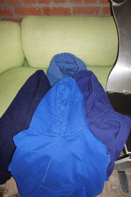 BLUE FAMILY ASSORTED HOODIES x 10