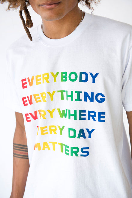 EVERYBODY EVERYTHING Recycled Cotton Classic Trash Tee