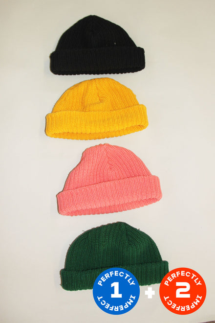 Mix of Colorful Beanies x 9
