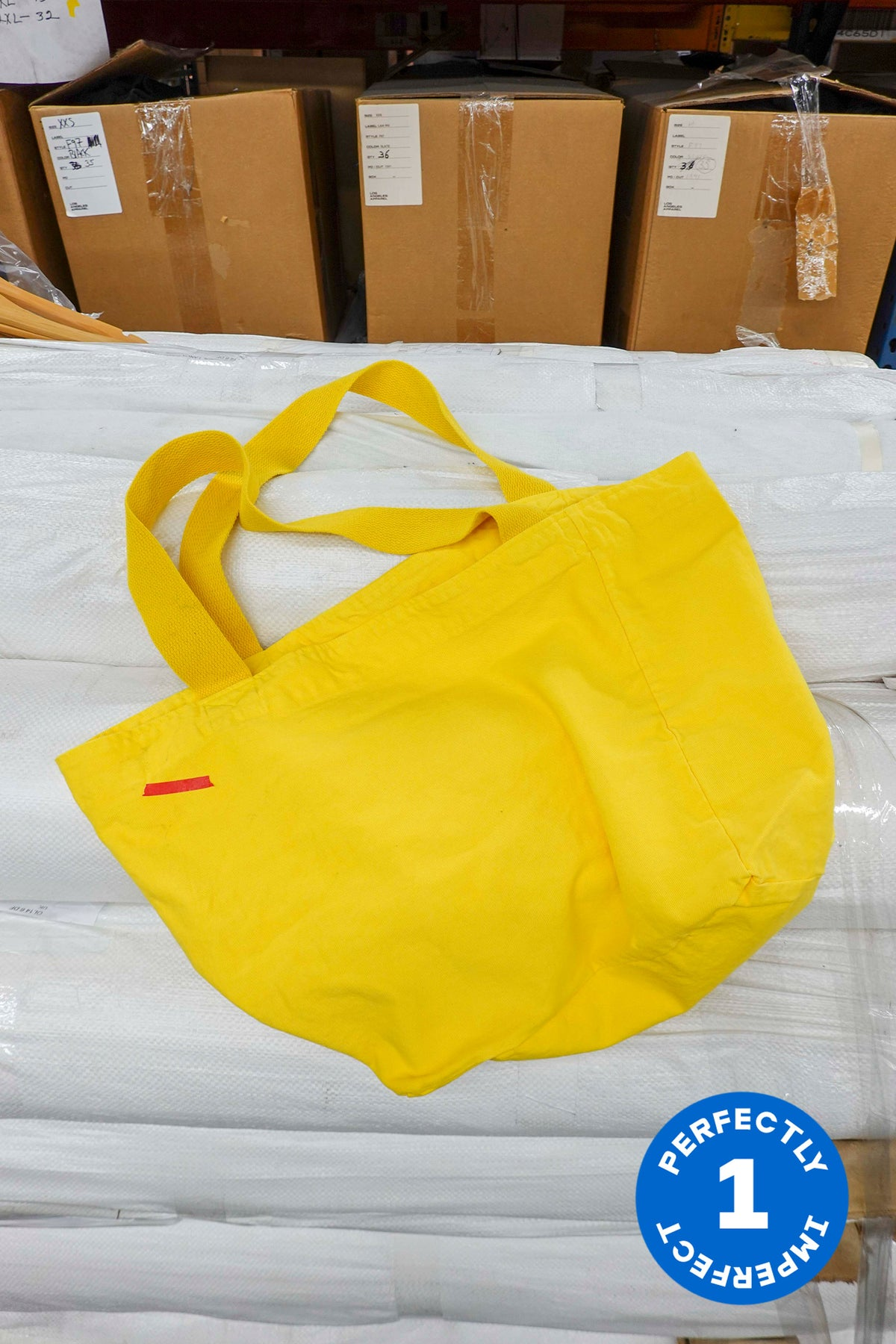 Big Yellow Totes x 11
