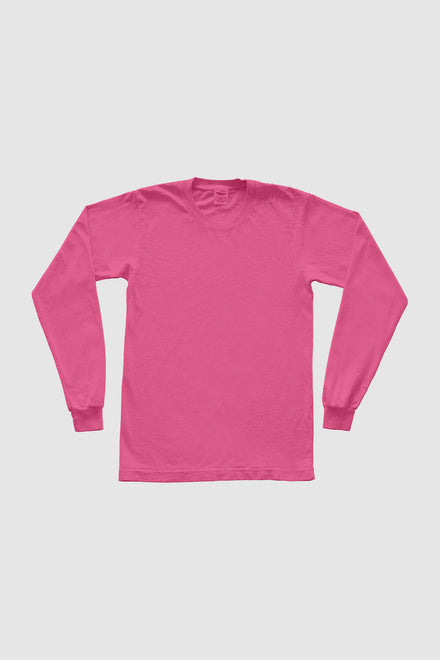 Recycled Cotton Long Sleeve Trash Tee