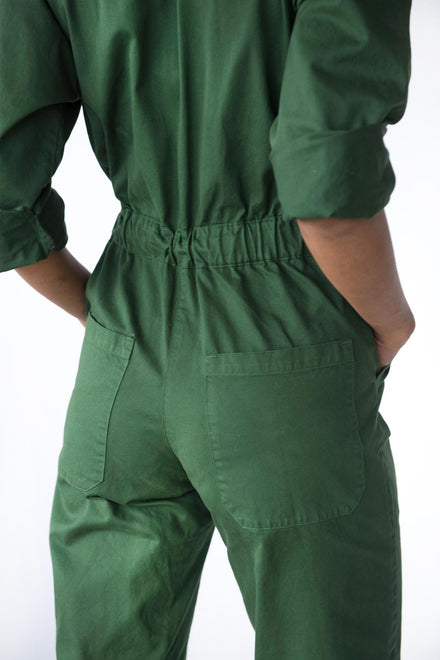 Native Green All In Flightsuit
