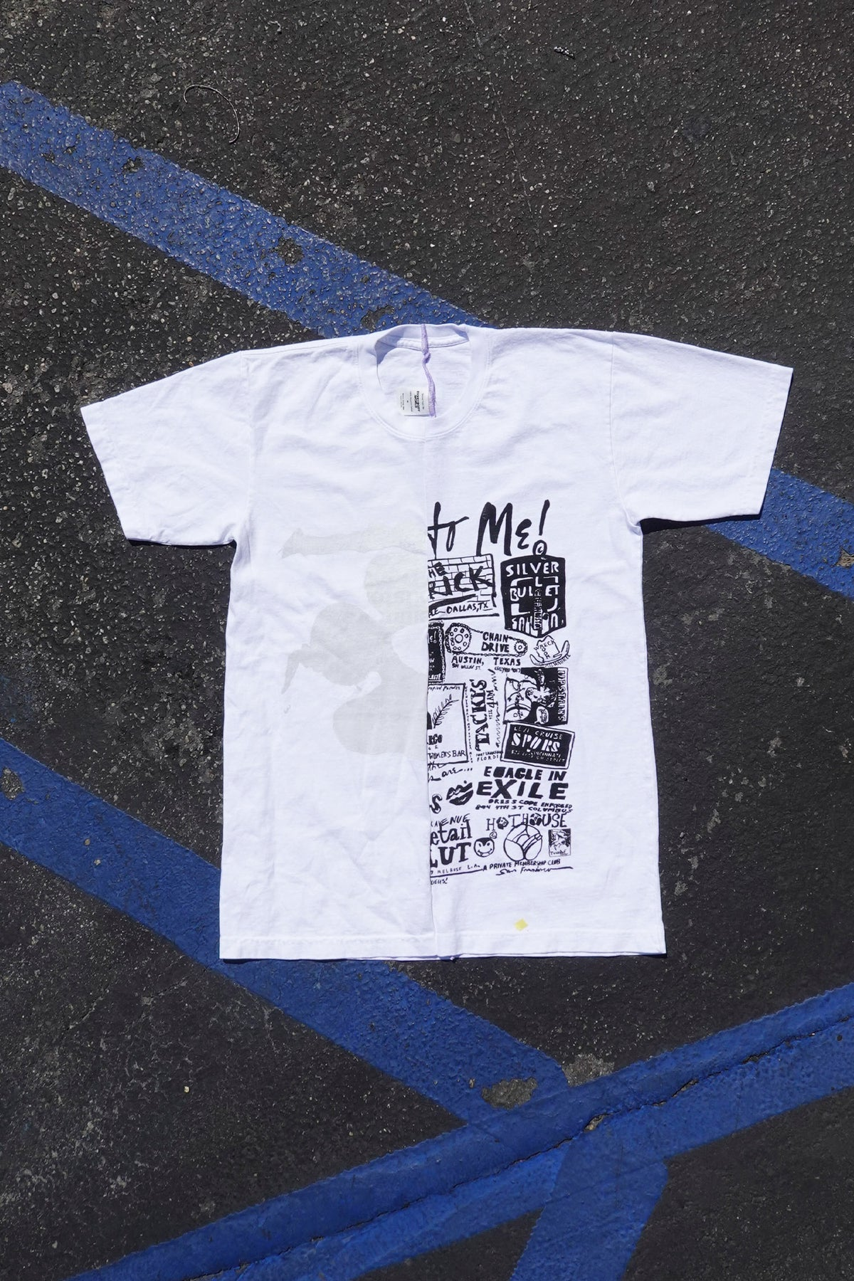 Mashup Trash Tee M