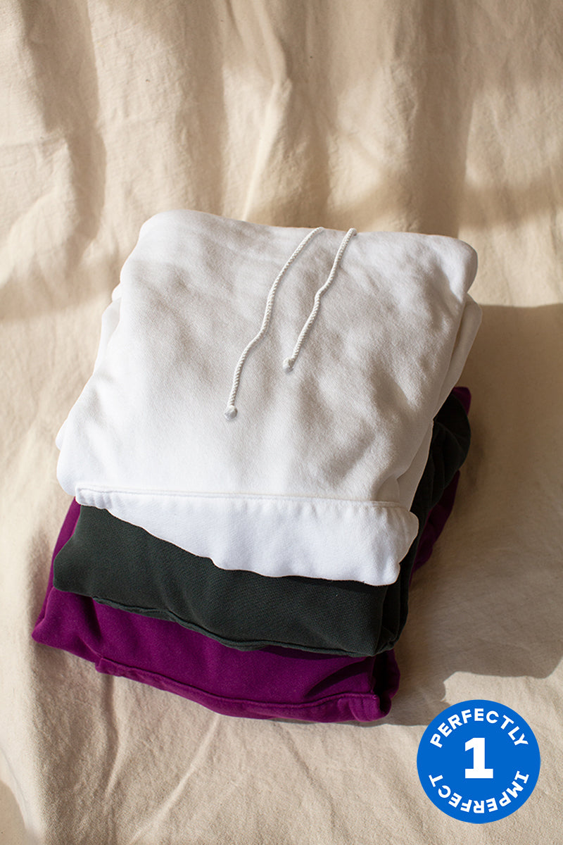 Cotton Fleece Hoodie x 3