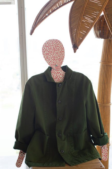 Native Green Top Down Jacket XS