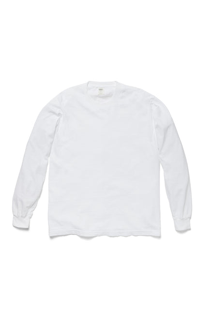 Long Sleeve Trash Tee in White