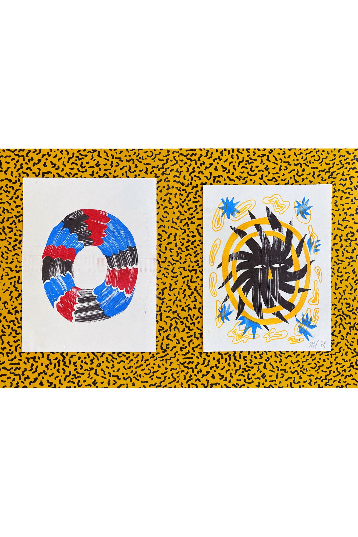 Double-Sided Meg Fransee Prints