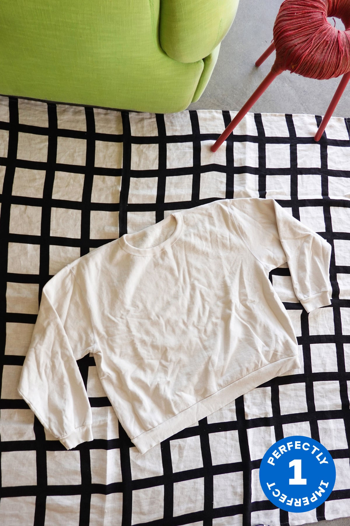 Off White Boxy Sweatshirts x 3