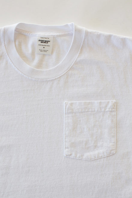 Recycled Cotton Pocket Trash Tee