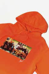 WASH WEAR Hoodie With Artwork