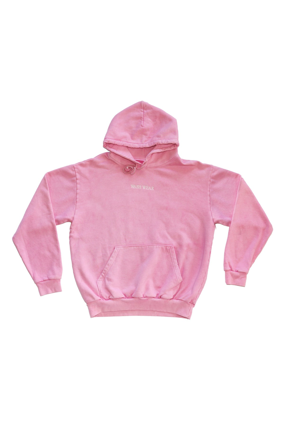WASH WEAR Hoodie With Embroidery