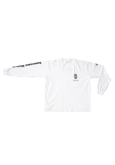 INNOCENCE MATTERS Long Sleeve Trash Tee