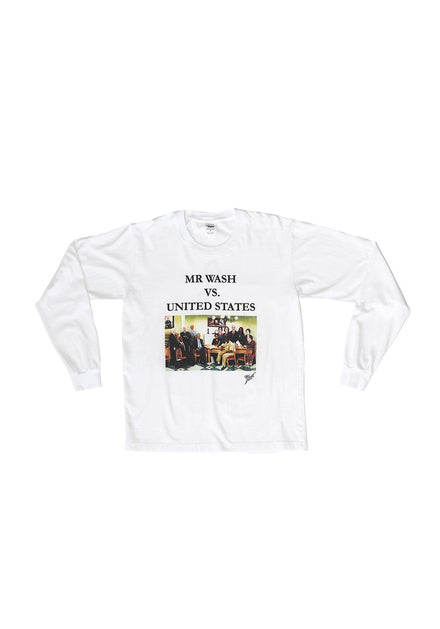 MR. WASH VS. USA Long Sleeve Trash Tee