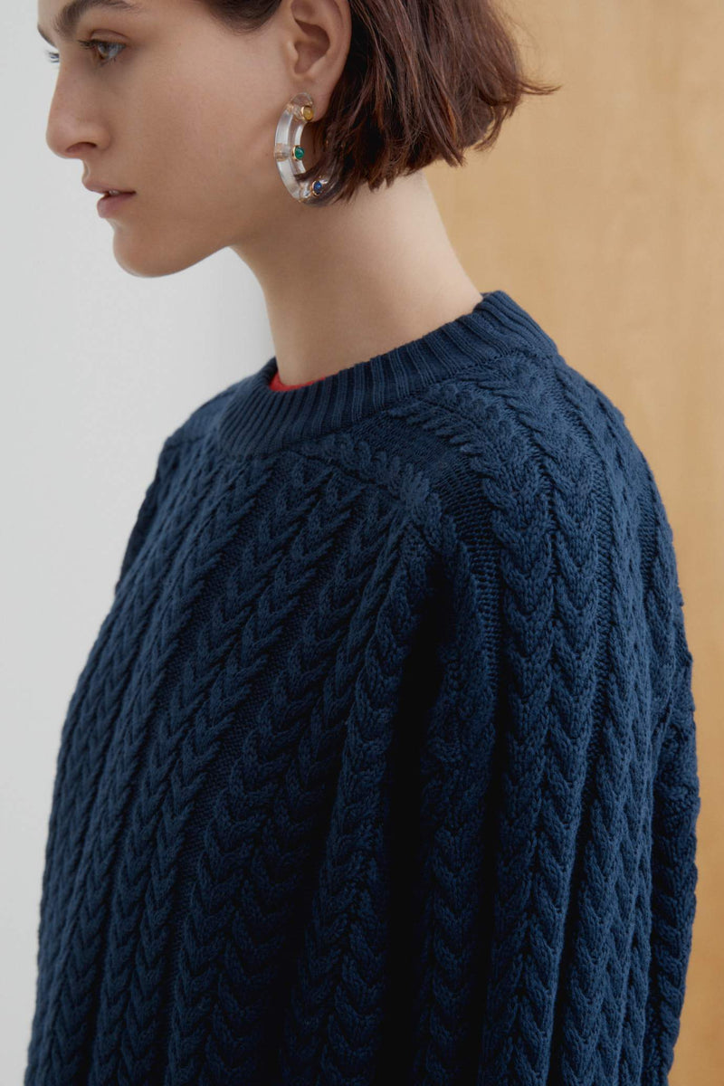 Cable Sweater