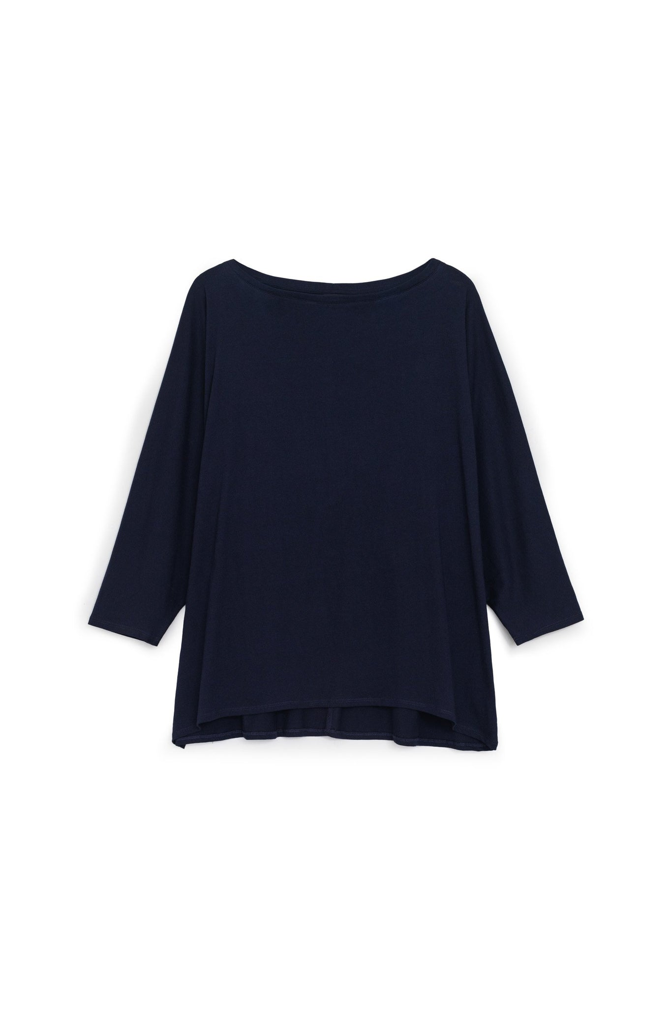 Relaxed Boat Neck Top