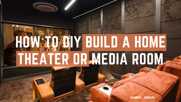 HtMart Design Guide #1: How To Build A Home Theater