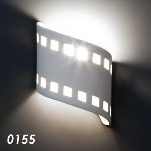 Film Strip Home Theater Wall Sconce 9""