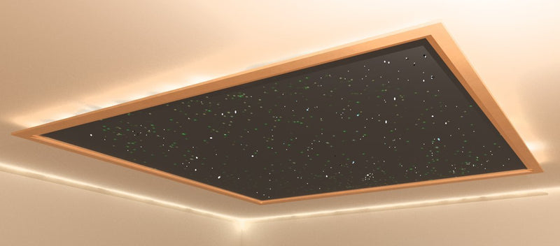 Fiber Optic Star Ceiling Panel 10 x 12 ft with Trim