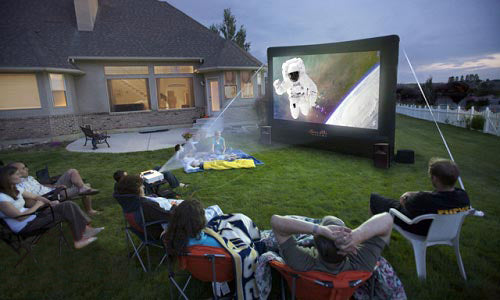 Backyard Theater System 12-ft