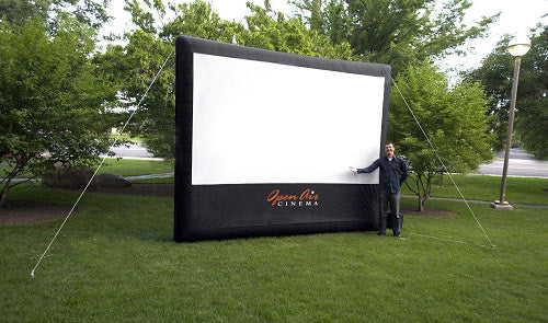 Outdoor Movie Screen Inflatable 12-ft
