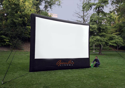 Outdoor Movie Screen Inflatable 16-ft