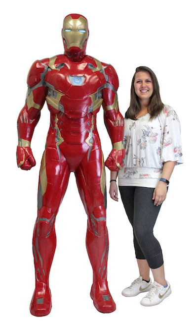 Iron Man Life-Size Foam Replica from Captain America: Civil War