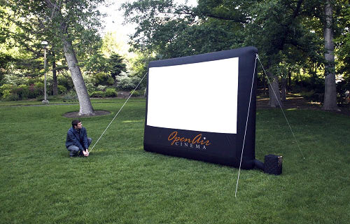 Outdoor Movie Screen Inflatable 9-ft