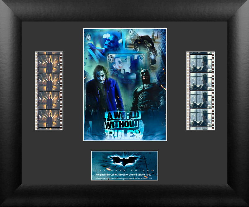 Batman Film Cell - Batman The Dark Night - Double Filmstrip S10