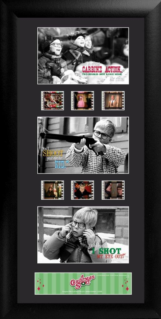 Christmas Story Film Cell Trio S1