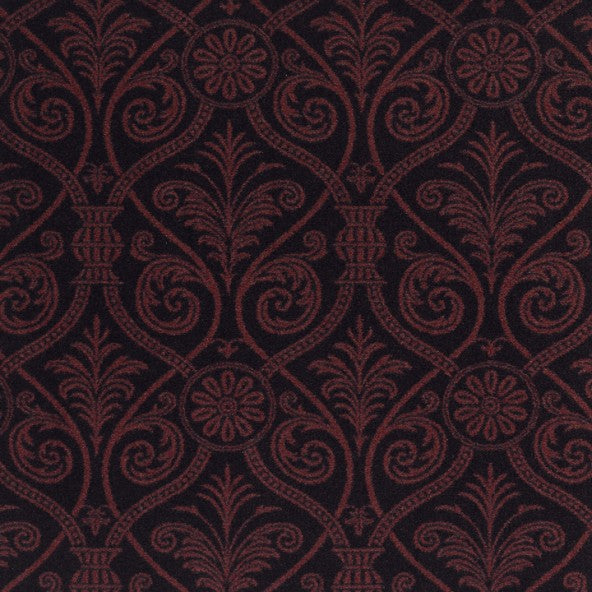 Damascus Home Theater Carpet Burgundy