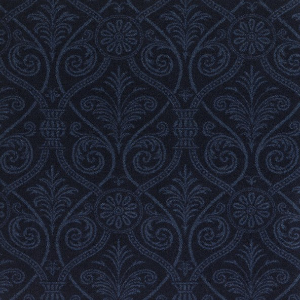 Damascus Home Theater Carpet Navy
