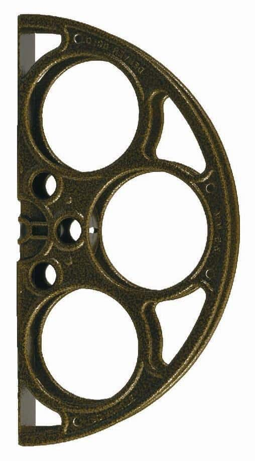 Gold Vein Film Reel Door Pull